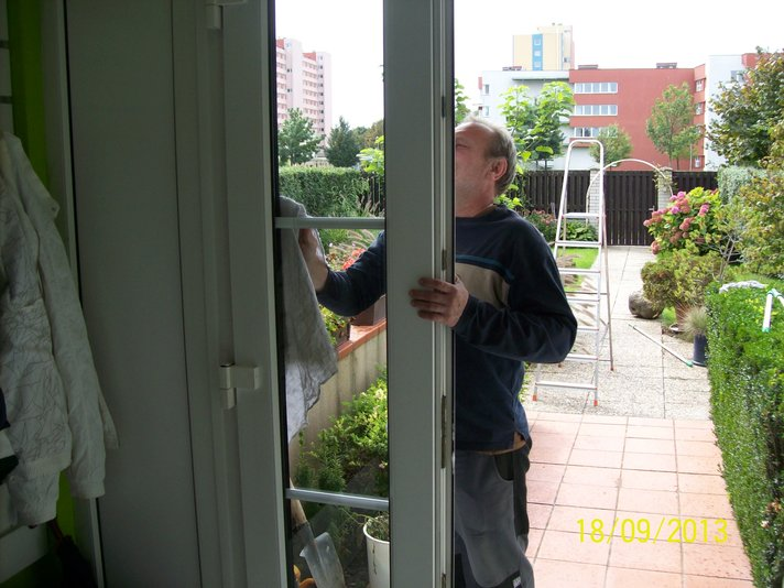 Mytí a čištění oken v domácnostech, Brno