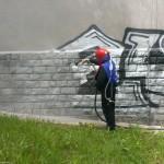 Odstranění graffiti hl.