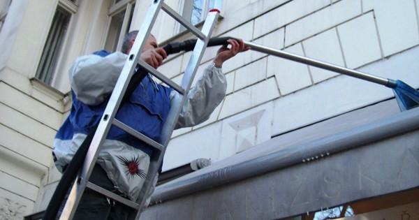 Mytí a čištění ve výšce Praha